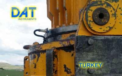 DAT instruments, JET 4000 AME / J, datalogger per pali ad elica continua, sensore velocità di rotazione, Turchia