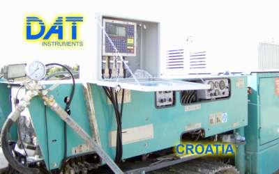 DAT instruments, JET 4000 AME / J, datalogger per perforazioni, Croazia