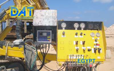DAT instruments, JET 4000 AME / J, datalogger per perforazioni, Egitto