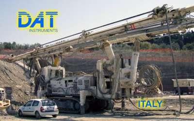 DAT instruments, JET 4000 AME / J, datalogger per perforazioni orizzontali, Italia
