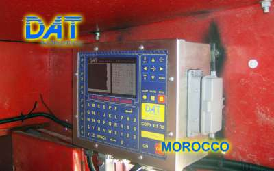 DAT instruments, JET 4000 AME / J, datalogger per vibroflottazione, Marocco