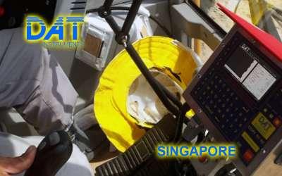 DAT instruments, JET 4000 AME / J, datalogger per vibroflottazione, Singapore