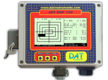 DAT instruments, datalogger per scavo di Diaframmi