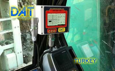 DAT instruments, JET DSP 100 / D, datalogger per scavo di diaframmi, Turchia