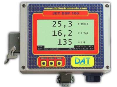 DAT instruments, JET DSP 100 / I / IR / IRT, datalogger per Iniezioni di cemento, Prove Lugeon