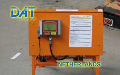 DAT instruments, JET DSP 100 / IR, datalogger per iniezioni di cemento, Paesi Bassi