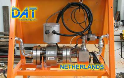DAT instruments, JET FLOW xx / EX, misuratore di portata elettromagnetico, Paesi Bassi