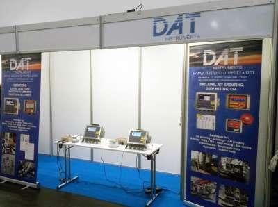 DAT instruments, data logger, Bauma 2016