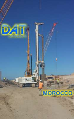 DAT instruments, Marocco, Porto di Nador, perforatrice per diaframmi