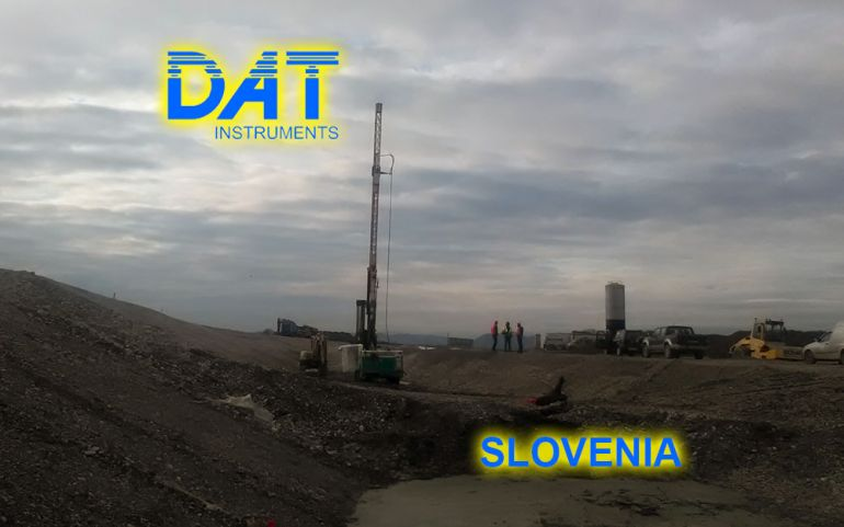 DAT instruments, datalogger, JET 4000 AME J-MDJ, Perforatrice, cut off diga