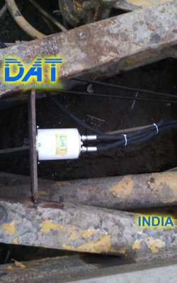 DAT instruments, India, Scavo di diaframmi, Idrofresa, Inclinometro, JET DSP 100 D