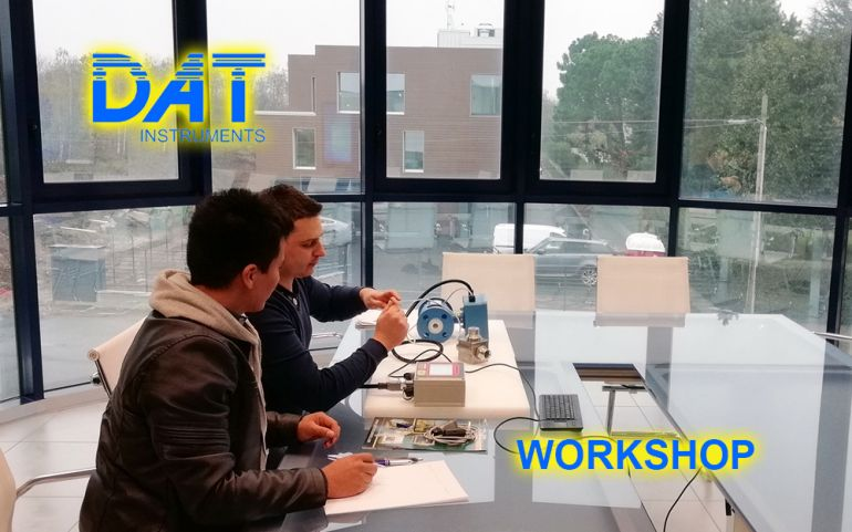 DAT Workshop, visita in azienda, training, datalogger, jetgrouting, drilling, dwalls