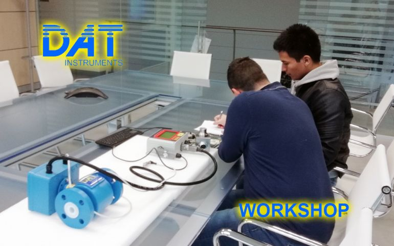 DAT Workshop, visita in azienda, corso data logger, training