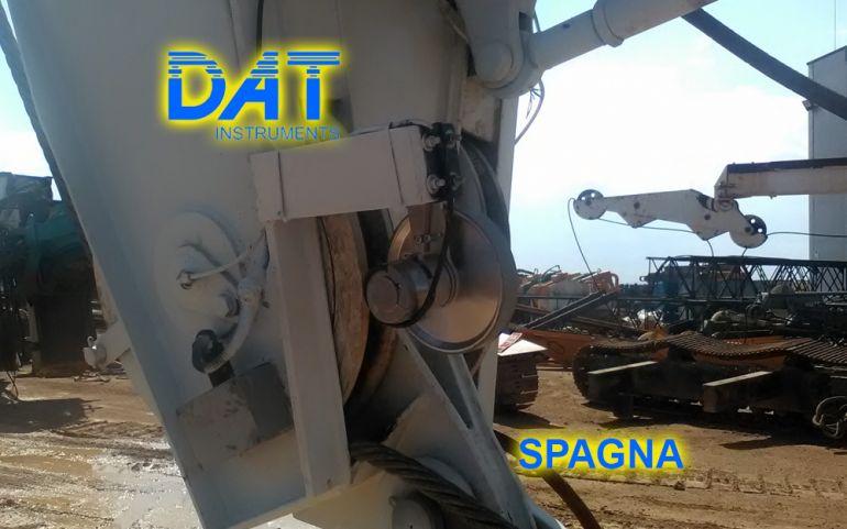 DAT instruments Spagna 2018 Datalogger CFA JET DEPTH2 sensore di profondità