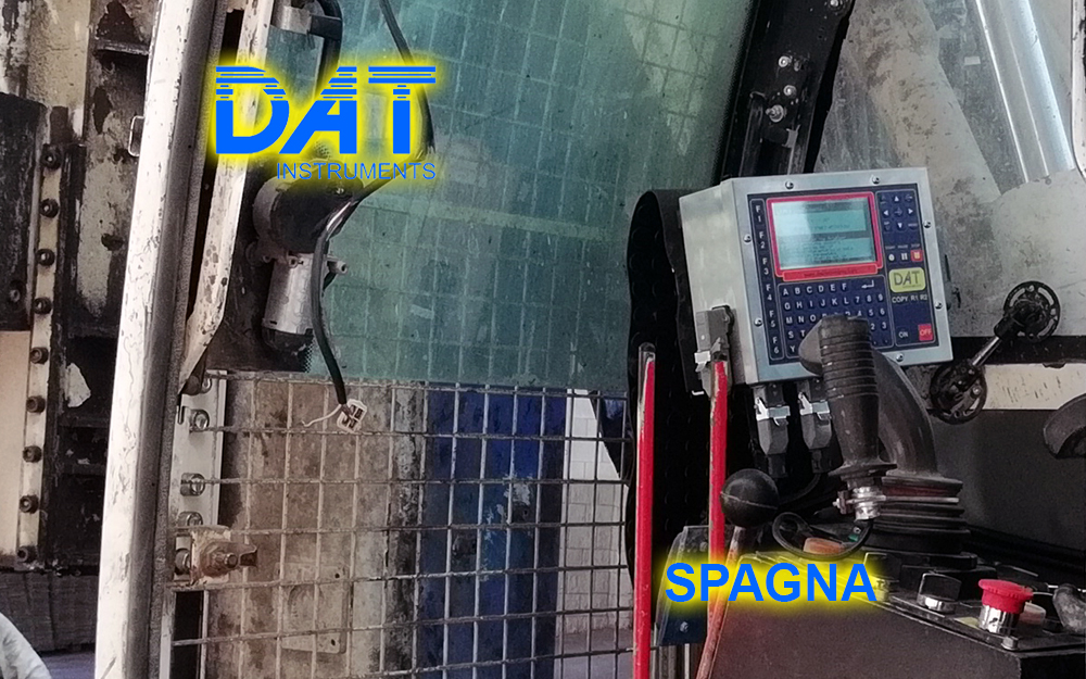 DAT instruments, datalogger, registratore, computer, soil mixing, JET 4000 AME J - MM