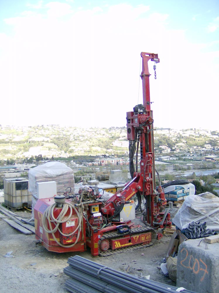 DAT instruments, JET 4000 AME / J , datalogger for drilling, MWD, jet grouting, soil mixing, deep mixing, CFA, vibroflotation, verticality control