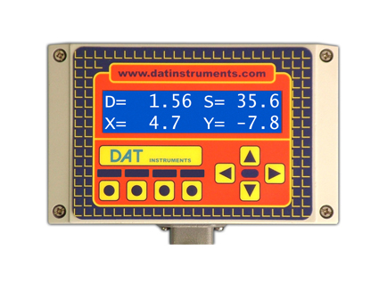 DAT instruments, JET SDP / J, depth and inclination meter