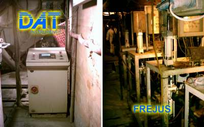 DAT instruments, DAT WM, cement mixing system, Frejus