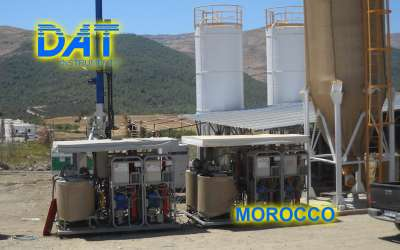DAT instruments, JET 4000 AME / I, datalogger for Lugeon tests, Morocco