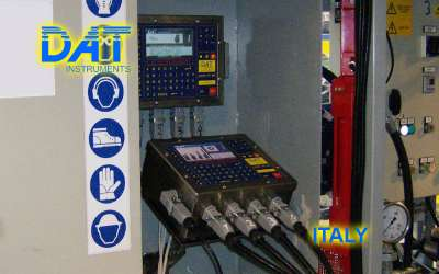 DAT instruments, JET 4000 AME / I, datalogger for grouting, Italy