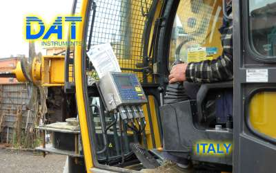 DAT instruments, JET 4000 AME / J, datalogger for Countinuous Flight Auger, proportional rise, Italy
