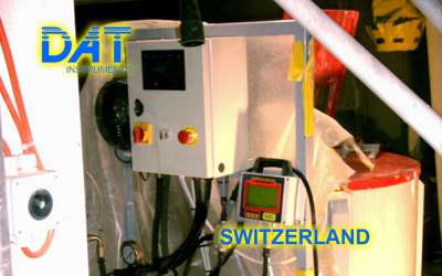 DAT instruments, JET 84 AME, cement pump electronic control panel, Switzerland
