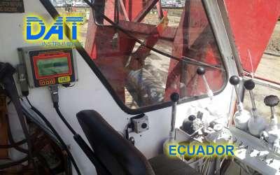 DAT instruments, JET DSP 100 / D, datalogger for diaphragm walls, Ecuador