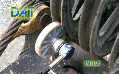 DAT instruments, JET DSP 100 / D, datalogger for diaphragm walls, depth sensor, India