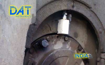 DAT instruments, JET DSP 100 / H, datalogger for hydromills, rotational speed sensor, India