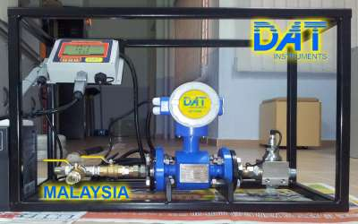 DAT instruments, JET DSP 100 / IR, datalogger for Lugeon tests, Malaysia