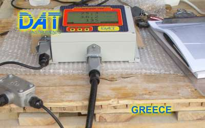 DAT instruments, JET DSP 100 / IR, datalogger for grouting, GIN, Greece