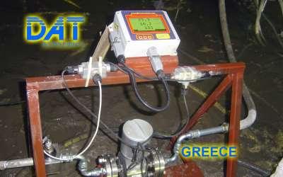 DAT instruments, JET DSP 100 / IR, datalogger for grouting, GIN, elettromagnetic flowmeter, Greece