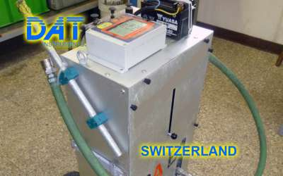 DAT instruments, JET DSP 100 / IR, datalogger for grouting, Switzerland