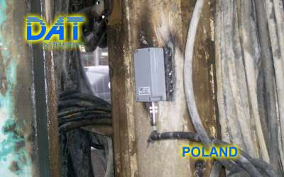 DAT instruments, JET INCL XY, biaxial inclinometer, Poland