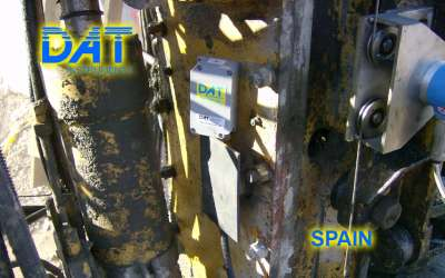 DAT instruments, JET INCL XY, biaxial inclinometer, Spain