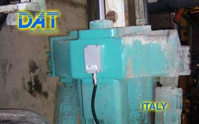 DAT instruments, JET INCL XY, mast inclination sensor, Italy