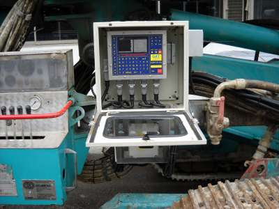 DAT instruments, JET 4000 AME / J, datalogger with project, Jet grouting