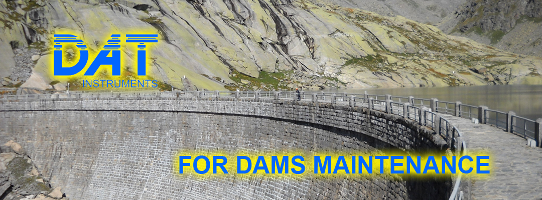 DAT instruments, datalogger for dams maintenance