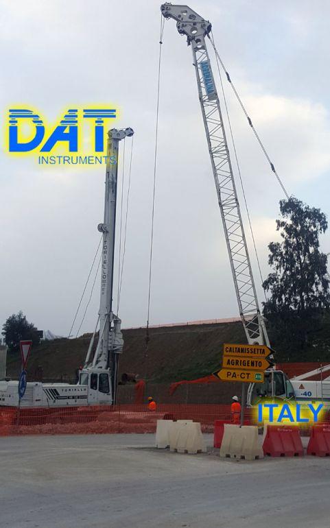 DAT instruments, Italy, datalogger, JET SDP - J, drilling, field