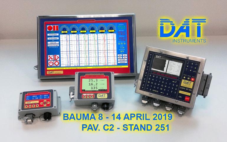 DAT instruments, data logger, bauma 2019
