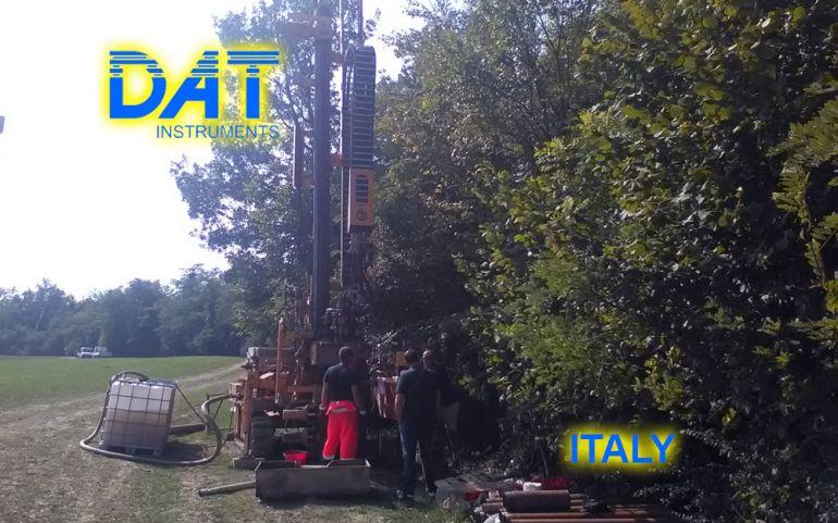 DAT instruments, data logger, JET SDP IB, geotechnical investigations, field