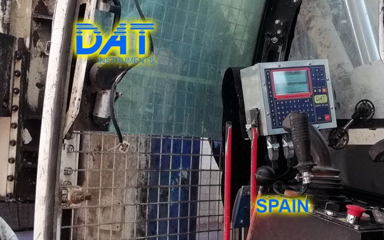 DAT-instruments-JET-4000-AME-J-MM-datalogger-drilling-rig-Spain, soil mixing works