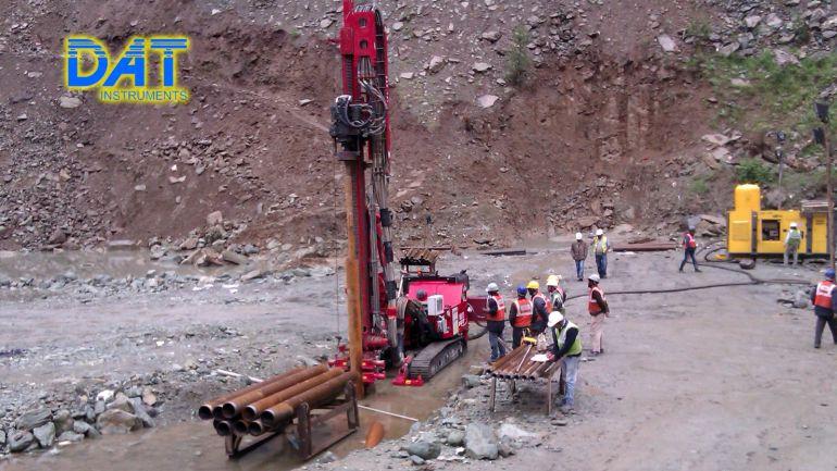 Drilling rig, datalogger, sensors, instrumentation, geotechnical, DAT instruments, MWD, digitalization, recorder
