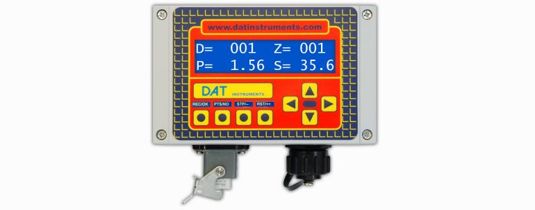 DAT instruments, JET SDP - IB, datalogger, JetGrouting, Jet Grouting (single fluid), piling, measure instrumentation, sensors, digitalization