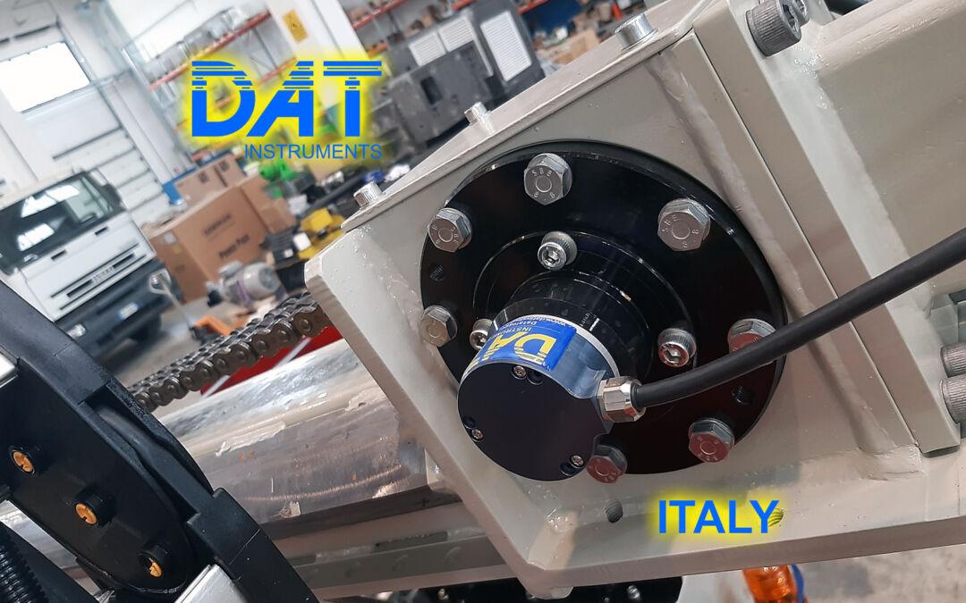 DAT instruments, datalogger installation at Beretta factory, JET SDP IB, JET DEPTH, depth sensor