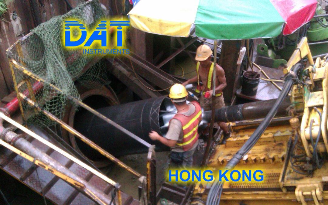 DAT instruments, horizontal drilling, on site, Honkg Kong