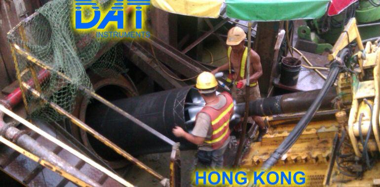 DAT instruments, horizontal drilling, Hong Kong, on site