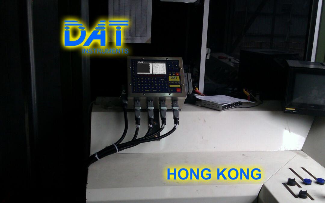 DAT instruments, horizontal drilling, JET 4000 AME J, datalogger, Hong Kong