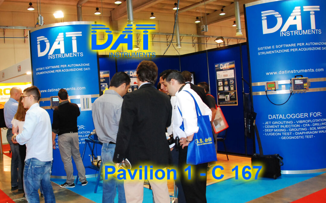 GEOfluid 2021, DAT instruments booth, visitors