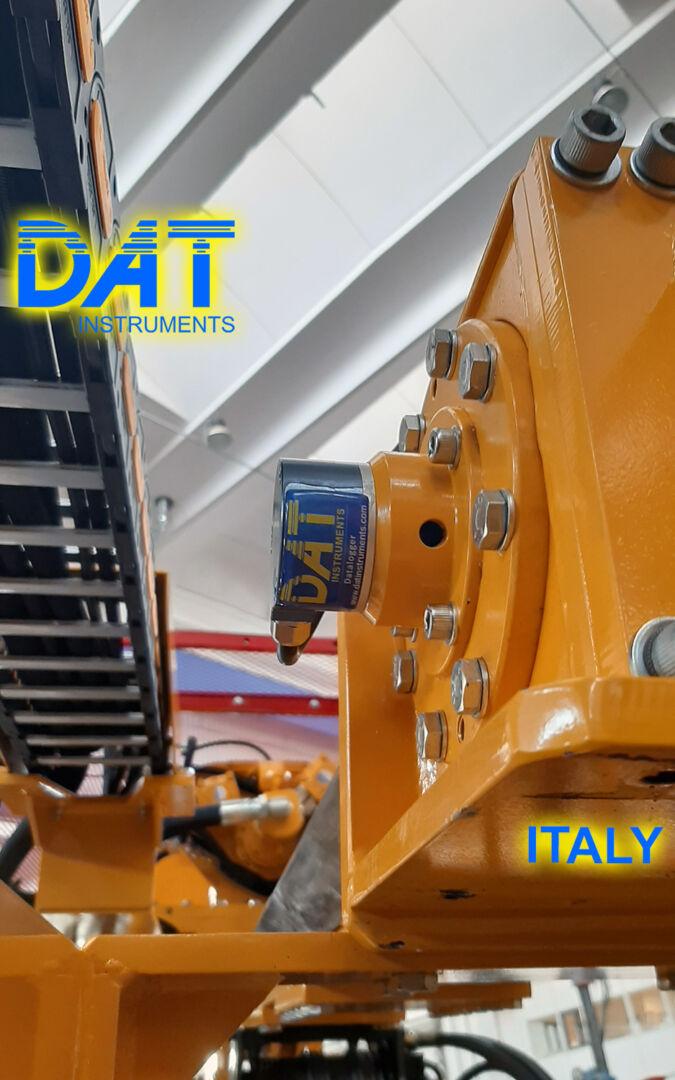 DAT instruments, datalogger JET SDP IB, drilling, depth sensor, JET DEPTH, data logger for mineral investigation